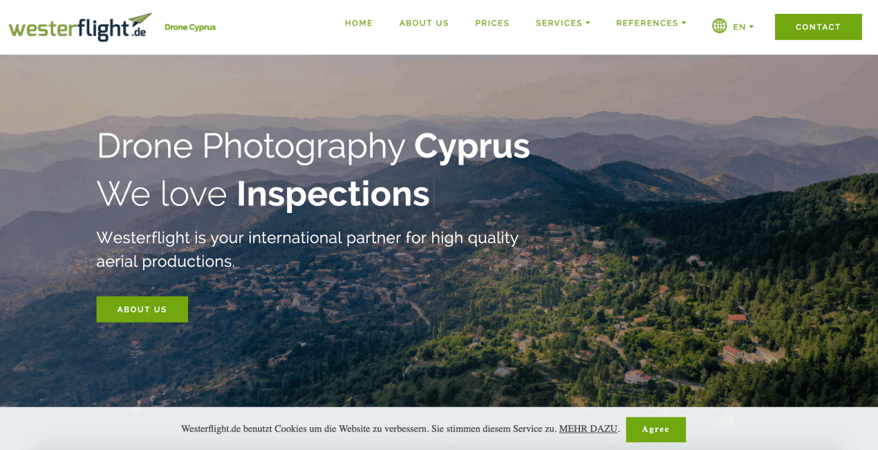 Drone Filmproduction Cyprus